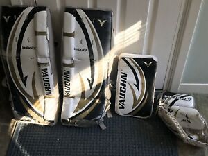Goalie gear and bag