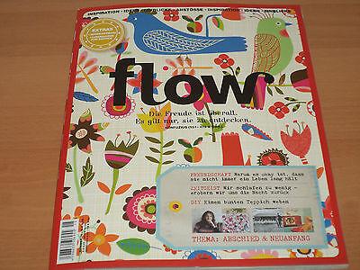 Flow Nummer 15 Zeitschrift mit allen Beilagen aus 2016 NEUWERTIG!