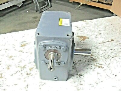 Boston Gear 726-5-j Right Angle Worm Gear Speed Reducer - Solid Shaft