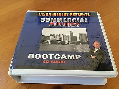 Commercial Millions Bootcamp Real Estate Course By Jason Gilbert -18 AUDIO CD'S!