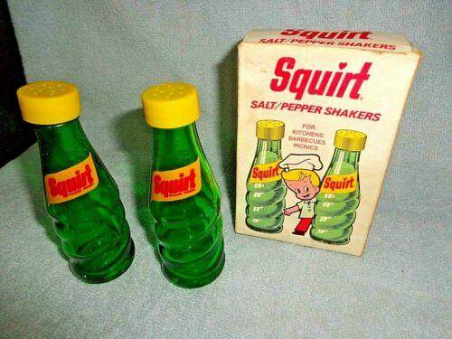 Vintage Squirt Salt & Pepper Shakers