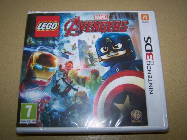 LEGO Marvel Avengers **New & Sealed** 3DS