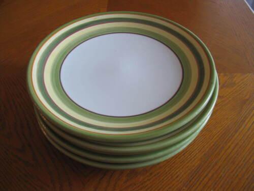 Set of 4 Dansk LIME TWIST Salad Plates