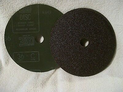 3m Aluminum Oxide Abrasive Sanding Disc 7 - 36 Grit - 5 Pcs ....