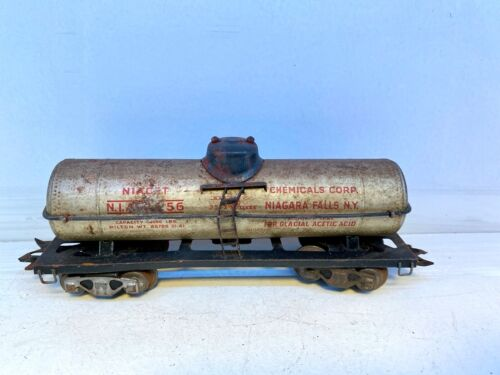 Vintage Marx Train Chemical Corp. Niagara Falls O Gauge