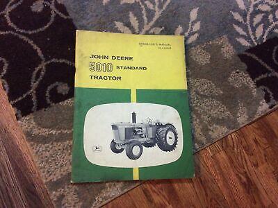 John Deere Model 5010 Tractor Omr35980 Operators Manual