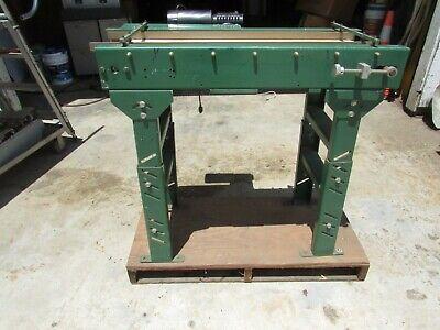 12 X 36 Power Belt Conveyor 130vdc Motor 2sec Belt Speedwe Ship Freight