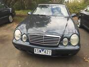 2000 Mercedes-Benz CLK320 Auto Convertible Templestowe Manningham Area Preview