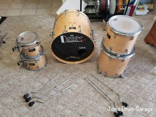 Donoho Drums 5 Piece Drum Kit - Shell Pack - Custom Built Maple Drum Set