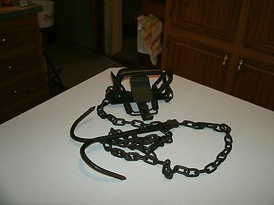 bridger foot hold double #3 coil spring trap