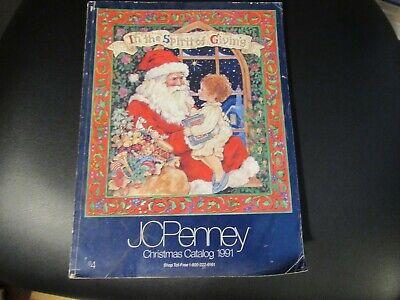 1991 JC Penney Christmas Catalog GI Joe vintage Nintendo WWF Sega LEGO Marvel