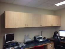 BROWN MOUNTABLE WALL CABINETS INC. SHELVES Herston Brisbane North East Preview