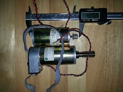 2 Dc Motors 24v One With Encoder Attached.