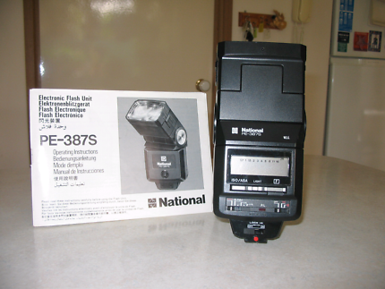 National Electronic Flash PE-÷87S