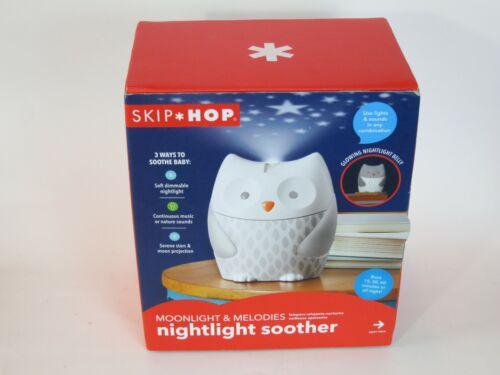 Skip Hop Moonlight & Melodies Nightlight Baby Sleep Soother Owl #186300