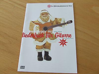 Das AMA Weihnachtsliederbuch für Gitarre Torsten Jeratsch inkl. CD mittelschwer