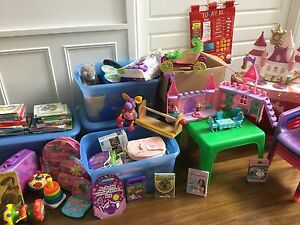 Toys, books, clothes, dvd's, kitchen, baby bjorn, table, chairs South Perth South Perth Area Preview