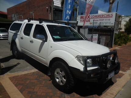 2007 NISSAN NAVARA D40 ST-X 4X4 D/CAB 6SPEED MAN ( DIESEL TURBO )