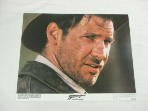 Vintage Complete Movie Lobby Card Set 1984 Indiana Jones & The Temple of Doom