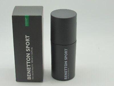 BENETTON SPORT BY BENETTON 3.3 OZ / 100 ML EAU DE TOILETTE MEN'S COLOGNE  Benetton Men Eau De Toilette