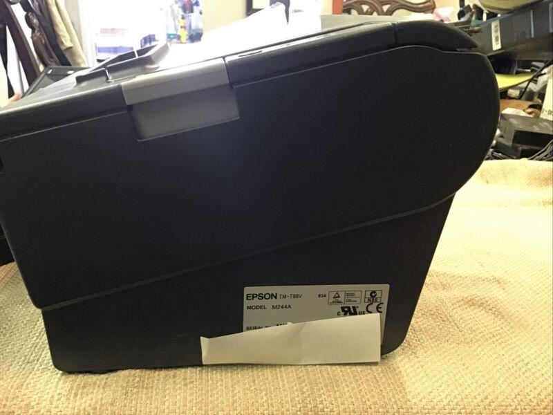 EPSON Black Thermal Receipt Printer M244a TM-T88V complete USB (B123)