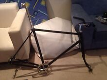 Steel track complete bike 59 cm Southbank Melbourne City Preview