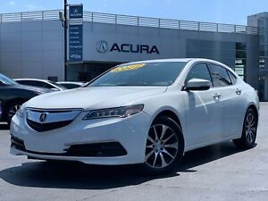 2015 Acura TLX TECH | 3.4% | LEATHER | REMOTESTART | FWD