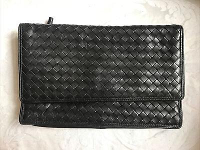 Bottega Veneta Black Clutch