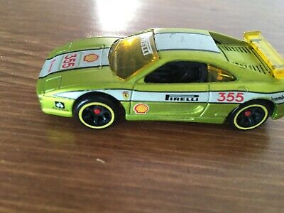 Ferrari F355 Challenge Type F129 1999 Hot Wheels Green