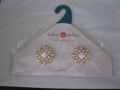 Lindsay Phillips Pair of Netta Shoe Snaps    NIP