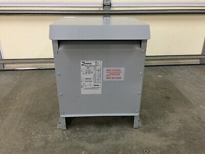 Hammond 161509 15 Kva 3 Phase 400 Volt Primary 231 Volt Secondary Transformer