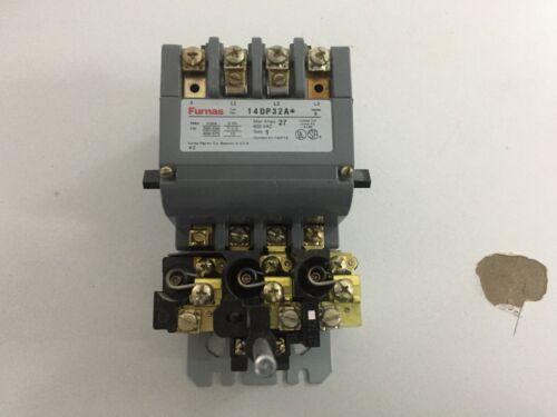 FURNAS 14DP32A SIZE 1 120 VOLT COIL STARTER/CONTACTOR