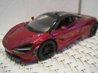 1:36 grün McLaren 720S Sammlermodell ca schwarz Neuware von KINSMART