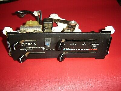 1987-1991 Ford F150 F250 F350 Bronco Temperature AC Heater Climate Control Unit
