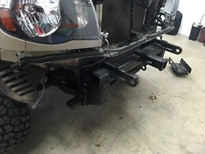 Tacoma winch / tow receiver