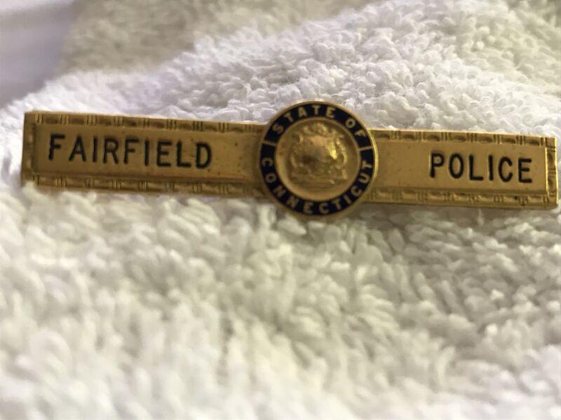 Fairfield, Connecticut Fairfield Police Vintage Tie Clip