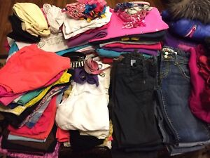 Huge lot of girls clothes for 7-8 years old