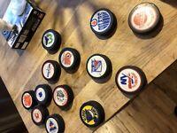 Rondelles de hockey année 60