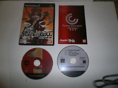 JEU PLAYSTATION PS2 JAP: .hack//G.U. Vol.1 - Complet TBE d'occasion  Expédié en Belgium