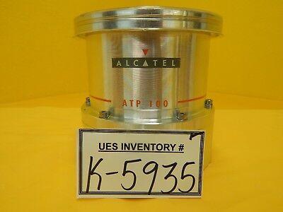 Atp Alcatel Atp 100 Turbomolecular Vacuum Pump Iso100 Turbo Used Working