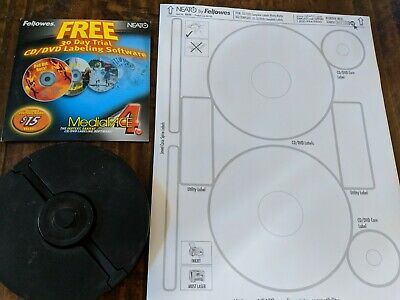 Fellowes Neato Cd Labels Matte Labels Jewel Case Inserts And Label Tools