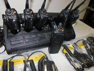 Lot Of 6 Motorola Xts3000 Uhf R2 450-520mhz Mod 1 P25 Portable Radio W Aes Des