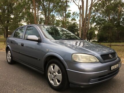 2004 Holden Astra CD Hatch Low Kms 4Months Rego Grey