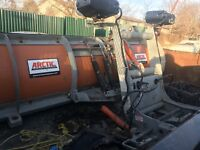 ARCTIC SNOW PLOW 2017 GALVANIZED MODEL 8 FOOT POLY $4000.00 London Ontario Preview