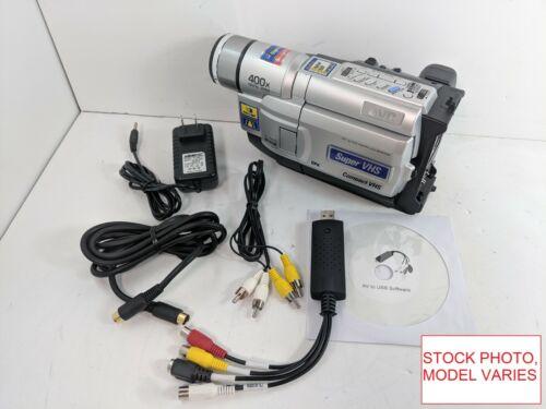 JVC Super S-VHS-C Camcorder for VHS-C Tape Transfer to DVD USB Adapter Converter