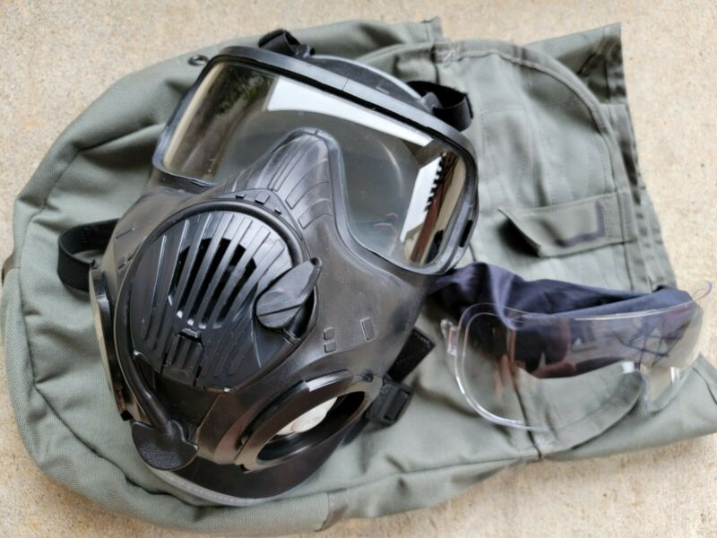 Avon Full Face Respirator M50 Gas Mask CBRN NBC Protection LARGE