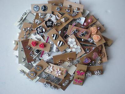 Wholesale lot of 50 Pairs of Stud Earrings
