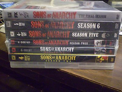 7  Sons Of Anarchy Season Dvd Lot  Soa Seasons 1 7  Complete Series  Brand New