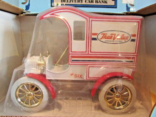 ERTL 1905 FORD  DELIVERY TRUCK TRUE VALUE HARDWARE ~COIN BANK~DIE CAST METAL