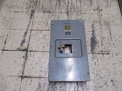 Square D Circuit Breaker Enclosure La-400-s 400a 600v Used